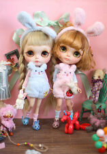 "SWEETIIGER Marshmallow bunny outfit For 12""  Blythe/Pulli/azone  Doll Clothes"