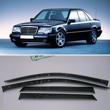 For Mercedes-Benz E W124 84-95 Window Side Visors Sun Rain Guard Vent Deflectors