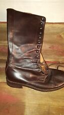 John Varvatos Brown Engineer Boots - ITALY - sz 10.5