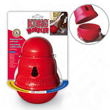 Kong Dog Toy .... Kongs Durable Treat Food Dispenser - Wobbler Large Size