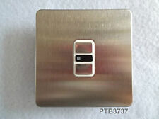 NEWLEC 1 GANG 2 WAY/MULTIWAY 350W/300VA SCREWLESS STAINLESS STEEL TOUCH DIMMER