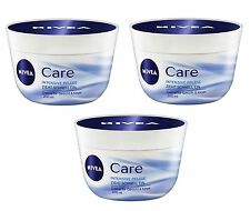 (29,33 €/L) 3x 200ml NIVEA CARE intensive crema per la cura viso & corpo 3er