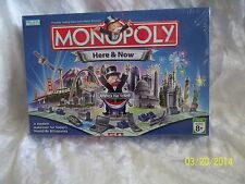 "2006 Monopoly ""Here and Now"" Board Game NEW SEALED Starbucks McDonald's 8 TOKENS"
