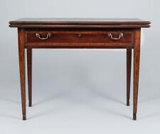 Card Table with Pitch Inlay Lot 492
