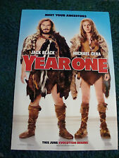 YEAR ONE - MOVIE POSTER WITH JACK BLACK  & MICHAEL CERA