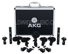 AKG batterie session 1 ensemble complet 7 microphone (1 x P2, 4 x p4, 2 x p17 CMI)