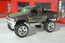 Hot Wheels 1987 Toyota Pickup Truck - Purple - Loose - 1:64 Off-Road Monster