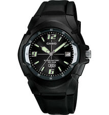Casio MW600F-1AV, Men's Watch, Black Resin, 100 Meter WR, Date, 10 Year Battery