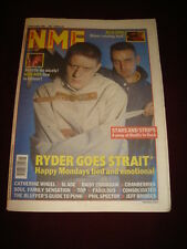 NME 1991 NOV 16 HAPPY MONDAYS SHAUN RYDER RUN DMC NIRVANA SLADE CRANBERRIES