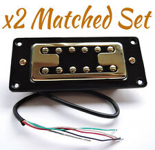 Matched Pair ARTEC FILTERTRON Humbucker Pickups GOLD / AP1CP / AP1GP Gretsch