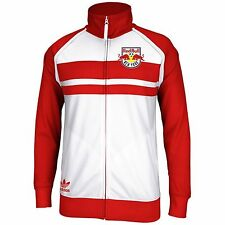 NEW ADIDAS ORIGINALS MLS NEW YORK RED BULLS SOCCER TRACK JACKET~SMALL~#D21422