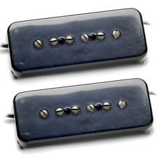 Seymour Duncan Antiquity Soapbar P-90 set black Neck & Bridge NEW free ship! P90