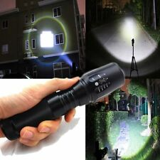 G700 X800 10000LM Zoomable T6 LED 18650 Flashlight Focus Torch Lamp Light