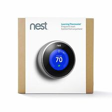 NEST Learning Thermostat, 2nd Generation, Works with Amazon Alexa... NEW!