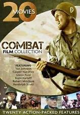 Combat Film Collection: 20 Movies (DVD, 2013, 4-Disc Set) Desert Commandos Navy