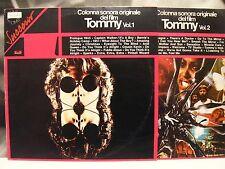 TOMMY - COLONNA SONORA ORIGINALE - VOL. 1 & VOL. 2 ITALY 1975 POLYDOR 2486 161/2