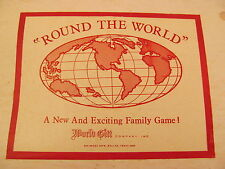 Vintage Round The World Game by World Gift RARE!