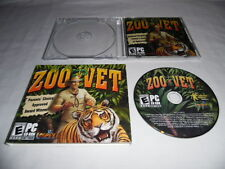 Zoo Vet - PC CD Computer game Complete E