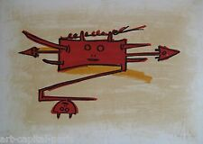 LAM WIFREDO WILFREDO LITHOGRAPHIE SIGNÉE AU CRAYON NUM/XX HANDSIGNED LITHOGRAPH