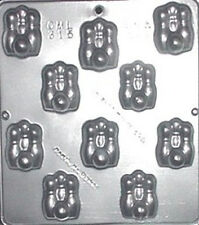 Bowling Pins & Ball Chocolate Candy Mold  315