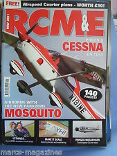 RCM&E MAY 2011 AIRSPEED COURIER PLANS TIM HOOPER CESSNA TEST HYPER AVA PRO F5J