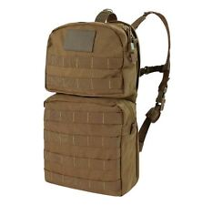 CONDOR MOLLE 2.5L Water Hydration Carrier II w/ Bladder hcb2-498 COYOTE BROWN