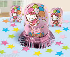 Hello Kitty Table Decorating Kit, 3 centerpieces etc. Birthday party supplies