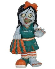 Miami Dolphins - Female Cheerleader Zombie Decorative Garden Gnome NEW