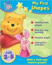 """Disney Home Learning: """"Winnie the Pooh"""" - My First Shapes, New,  Book"""