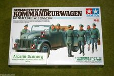 Tamiya STEYR 1500A KOMMANDEURWAGEN & HQ STAFF SET 1/35 Scale  Kit 25149
