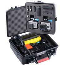 Smatree Waterproof ABS Hard Carry Large Case For GoPro Hero 4 3+ 3 2 1 Cameras