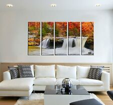 Canvas Art Prints - Waterfall Wall Decor - Office Decor Wall - Framed Picture