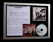 THE JAM+WELLER Down Tube Station Midnight LTD QUALITY CD FRAMED DISPLAY+FAST DEL