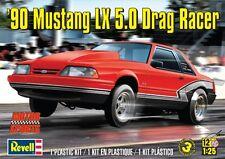 Revell Monogram 1990 Ford Mustang LX 5.0 Drag Racer  Model Kit 1/25