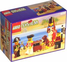 LEGO 6252 Pirates Sea Mates 4 Minifigures + Monkey and Treasure NEW & SEALED