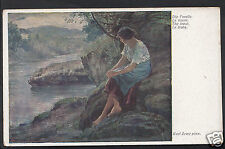 Artist Postcard - Die Forelle - The Trout - Karl Zewy Pinx   A9770
