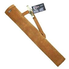 CAROL TRADITIONAL SUEDE LEATHER SIDE/HIP/BELT/WAIST ARROW TUBE QUIVER AQ113