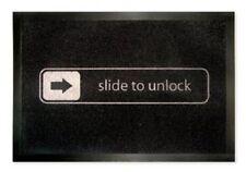 Fußmatte Slide To Unlock - Türmatte Fußabstreifer Fussmatte Schmutzmatte