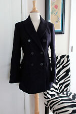 Zara Woman Navy Blue Blazer Coat Jacket NEW NWOT S