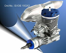 15GX2 Benzinmotor mit Pumpenvergaser von Evolution Best.-Nr.:EVOE15GX2