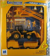 NEWRAY CONSTRUCTION SERIES PLAY SET 35 Pieces Road Work, 1/32 Scale