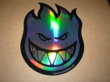 "SPITFIRE PRISM Logo Skate Sticker 4.5 X 6"" skateboards helmets decal"