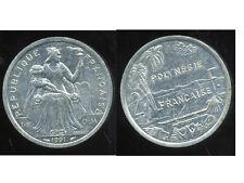 POLYNESIE francaise 2 francs 1991