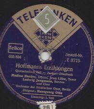 Jaques Offenbach : Madlon Harder  und Jean Löhe , Dirigent Hansgeorg Otto - Hoff