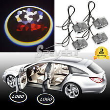 4x Laser Logo LED Car Door Step Ghost Shadow Courtesy Projector Light For TYT