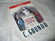 TEATRO ALLA SCALA FAUST DI CHARLES GOUNOD PROGRAMMA STAGIONE 1996/1997