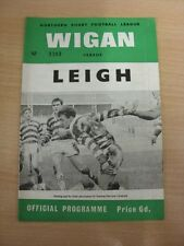 30/12/1967 Rugby League Programme: Wigan v Leigh  . Thanks for taking the time t