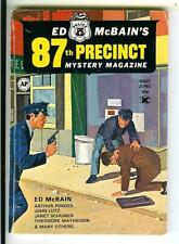 ED MCBAIN 87TH PRECINCT MYSTERY MAG #6, rare US crime digest mag GIL BREWER