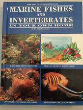Marine Fishes and Invertebrates in Your Own Home Emmens Hardback Illustrated