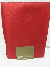 "LUX HABITAT VALENTINES HOLIDAY SHIMMER METALLIC TABLECLOTH 70"" ROUND"